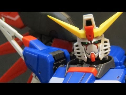 RG Destiny review (4: MS) Gundam Seed Destiny Shinn Asuka's Real Grade gunpla model ガンプラ
