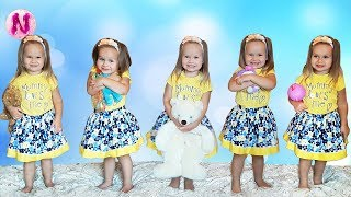 Five little Babies Jumping on the bed, Baby nursery rhymes songs for children