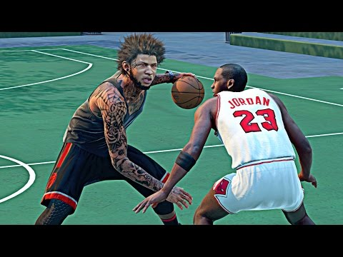 NBA 2k16 My Park - My 1st Park Game !