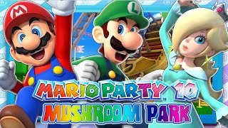 Mario Party 10 - Part 1 (1080p 60FPS) - Mushroom Park & Giveaway