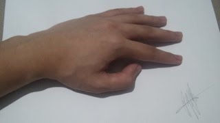 3D Drawing Hands | Best Realistic Hands | Optical Illusion Art