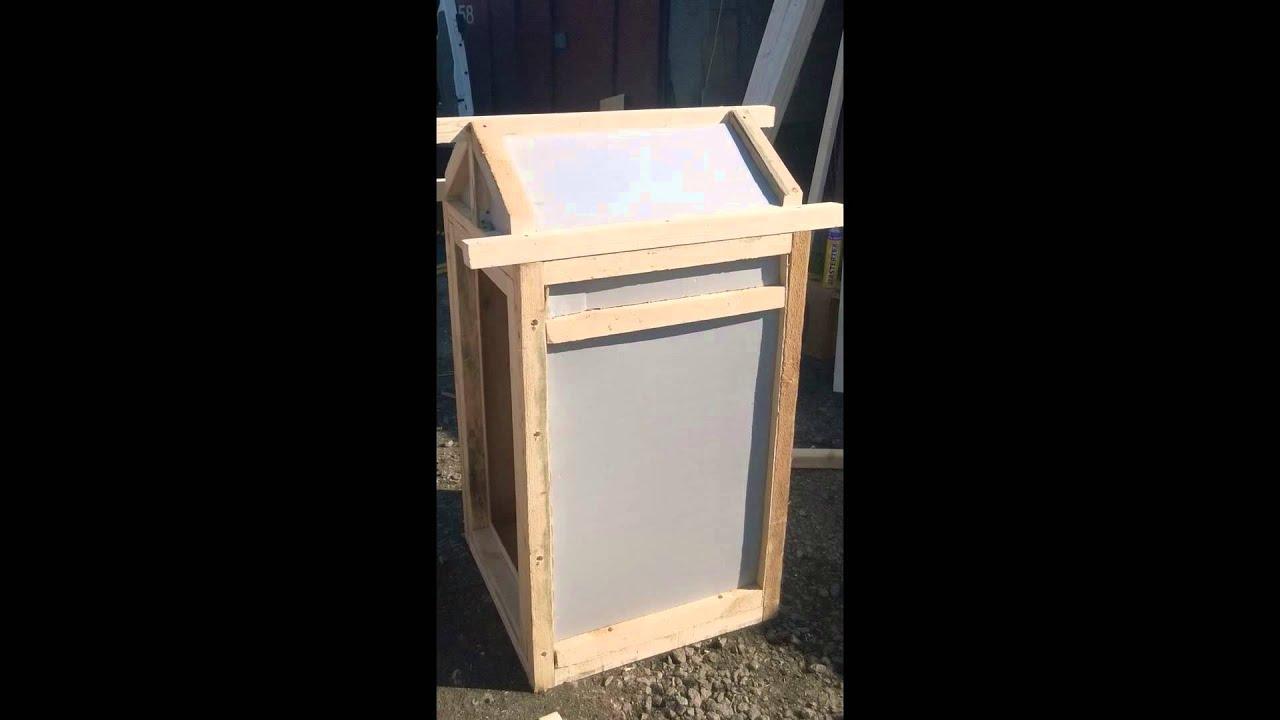 Ящик для холодного копчения своими руками