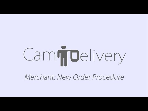 Merchant New Order Received: Online Food Ordering Delivery Phnom Penh