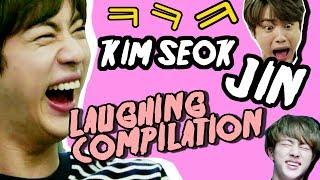 BTS JIN KIM SEOK JIN laughing compilation