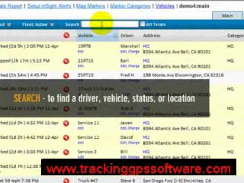 GPS Fleet Management & Vehicle Tracking Software - OnTrack