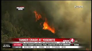 Air Tanker Pilot Dies In Crash While Fighting Yosemite Area Fire