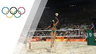 Rio Replay: Women's Beach Volleyball Bronze Final