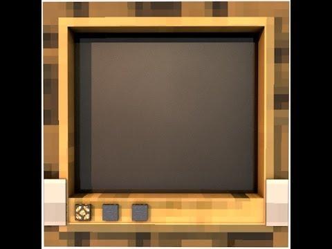 Minecraft İcatları Televizyon (Modsuz)