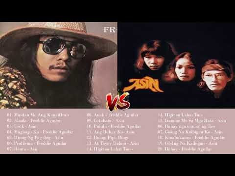 Asin, Freddie Aguilar Greatest Hits NON-STOP | Freddie Aguilar, Asin tagalog Love Songs Of All Time