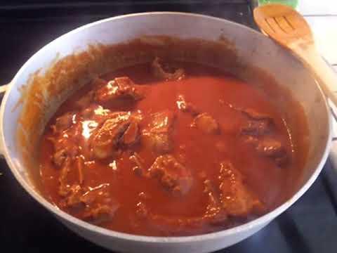 Receta ``Carne de Puerco en Adobo