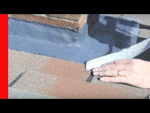 Chimney Flashing Repair - How to Fix Leaks