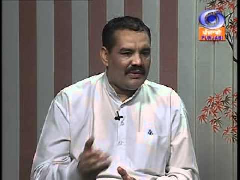 Vijay Sampla Chairman Punjab Khadi & V. I. Board on DD- Udyog Jagat.