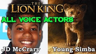 The Lion King Movie All Voice Actors 2019