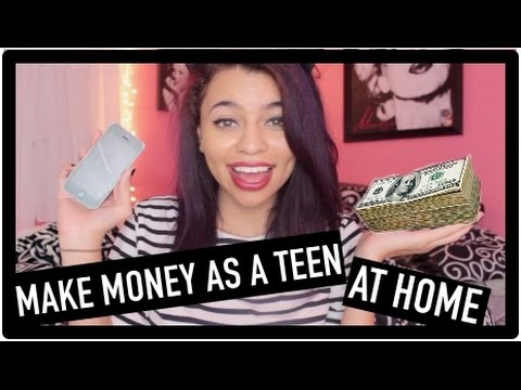 How To Make Money Fast At Home! Teens/Kids On Your Phone