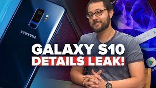 Samsung Galaxy S10 and flexible phone details (Alphabet City)