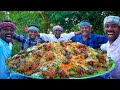 BIRYANI | QUAIL BIRYANI Made with 200 Quail | Marriage Biryani Cooking In Village | Biryani Recipe