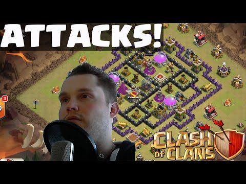 CLASH OF CLANS    LAZY FARMING    Let's Play Clash of Clans [Deutsch/German HD]