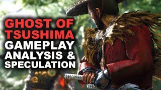 GHOST OF TSUSHIMA GAMEPLAY TRAILER ANALYSIS & SPECULATION | Ghost of Tsushima PS4