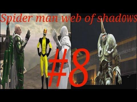 Прохождение игры spider man web of shadows часть 8  перевод )