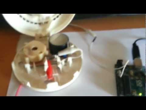 Smoke Detector Performing Morse Code (CW)