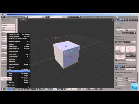 3D моделирование. Blender. Урок 1. Часть 1.