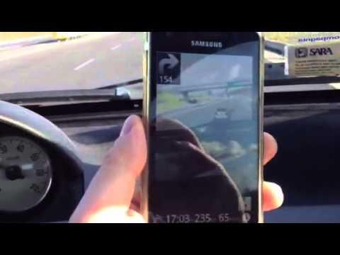 Video prova Route 66 su Samsung Galaxy S2