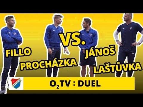 O2 TV Duel: Hráči Baníku hrají nohejbal