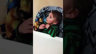 Funny response. Baby's got attitude