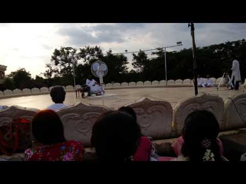 Sri sri singing samba sada shiva
