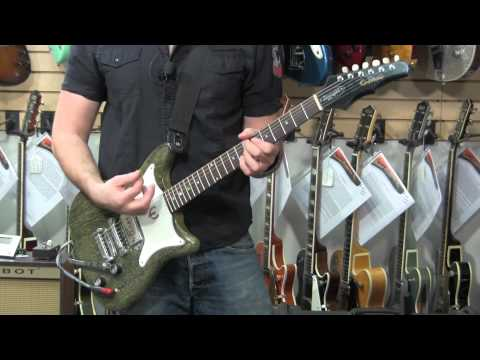 SILVER FOXY Phil X and a 1966 Epiphone Coronet 01266