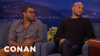 Key and Peele's Favorite Made-Up Words  - CONAN on TBS