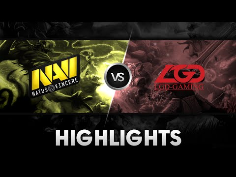 Highlights from Na'Vi vs LGD Gaming @ The International 2014