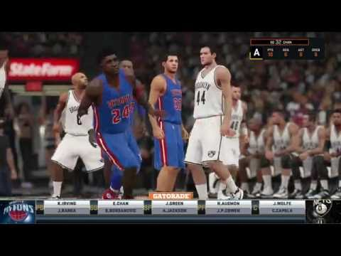 Detroit Pistons vs Brooklyn Nets EC Finals 2020 Game 3