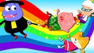 Rainbow Colors Song   Nursery Rhymes   Baby Songs   Children Rhyme