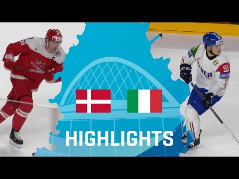 Denmark - Italy   Highlights   #IIHFWorlds 2017