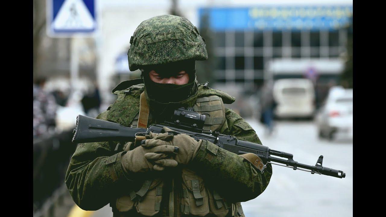 Вежливые люди Крым. Путь на Родину 2017