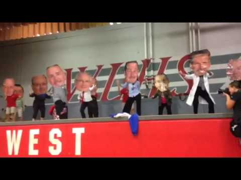 West Lincoln High School Bobble Head Teacher Talent Show