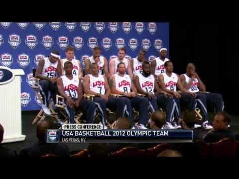 2012 USA Basketball Olympic Team Introduction