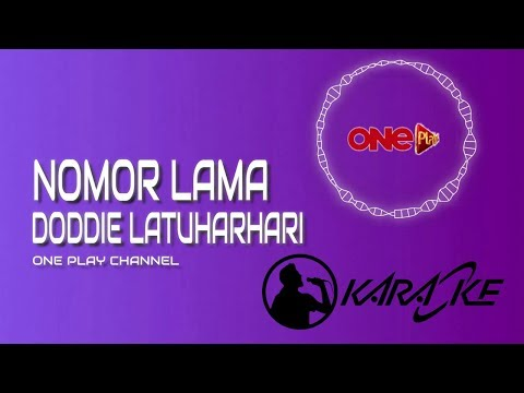 NOMOR LAMA Karaoke - Doddie Latuharhary