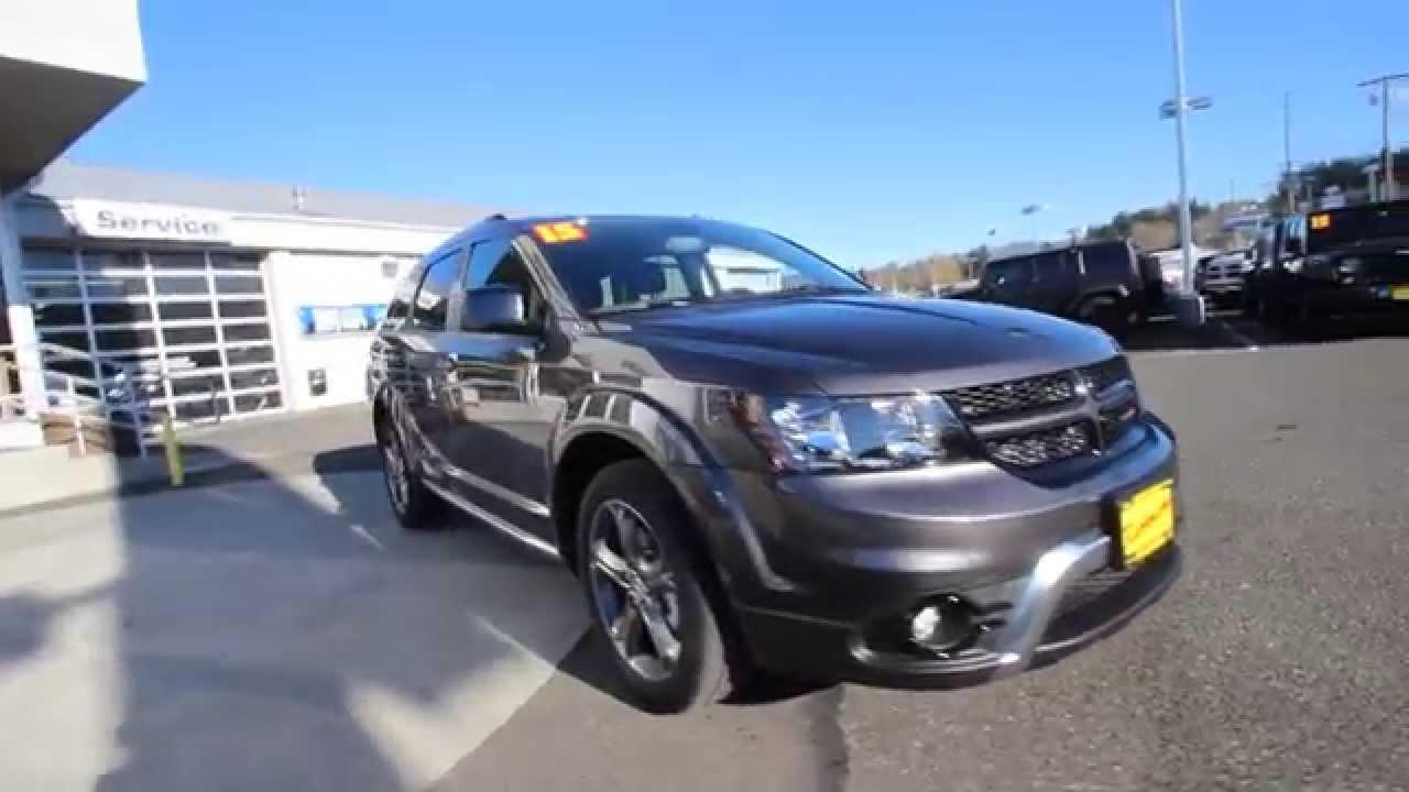 2015 Dodge Journey Crossroad Gray Ft549133 Mt Vernon
