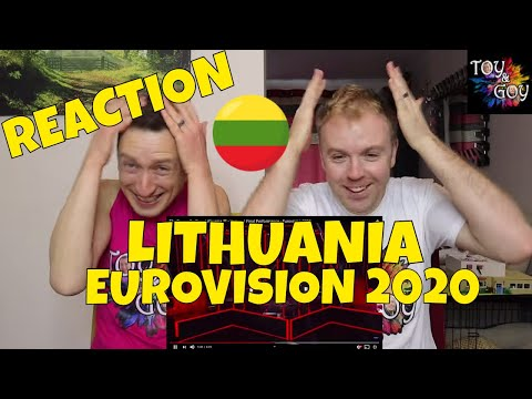LITHUANIA EUROVISION 2020 REACTION: The Roop - On Fire