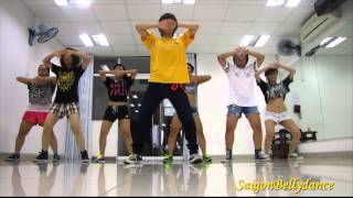 |La La La - Naughty Boy ft. Sam Smith, Girls style Hiphop Ms. Puna, SaigonBellydance