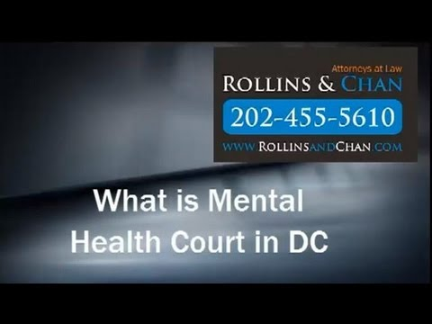 Criminal Lawyer - Mark Rollins explains Mental Health Court