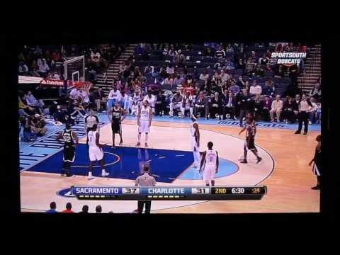 Fans chant for Charlotte Hornets at Bobcats game