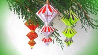 how to make christmas ornaments, DIY tutorial, Christmas balls on the Christmas tree