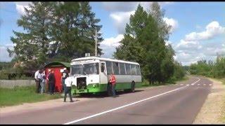Фанатская поездка на автобусе ЛиАЗ-677М в Виноградово