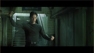 The Matrix Neo vs Mr. Smith (Subway Fight)