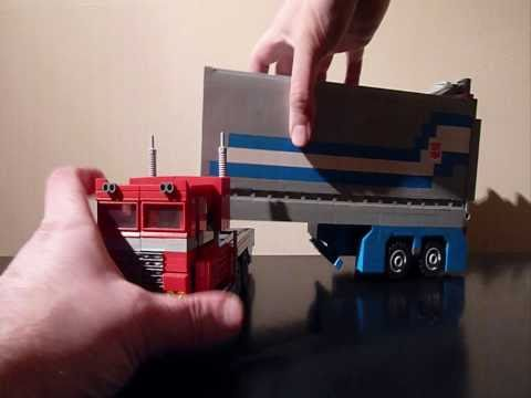 OPTIMUS PRIME. a Deluxe Lego Transformers Creation