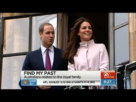 Sunrise - Family history traced to royalty