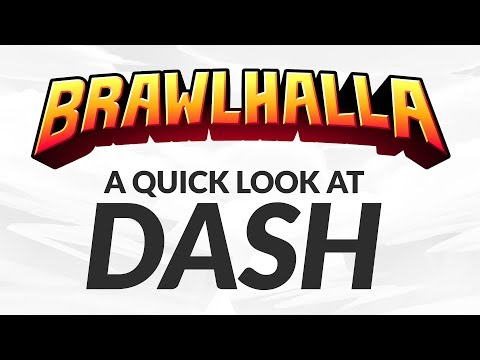 Dash - A Quick Look at the new Brawlhalla Dash Mechanic in Season 6